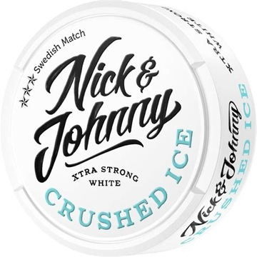 Nick johnny crushed ice White pudelka  od snus