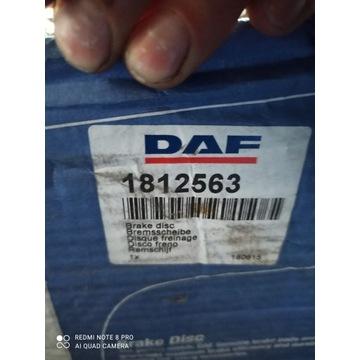 Tarcza DAF 106 Oryginał