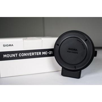 Konwerter Sigma MC-21 / Canon EF - Panasonic L