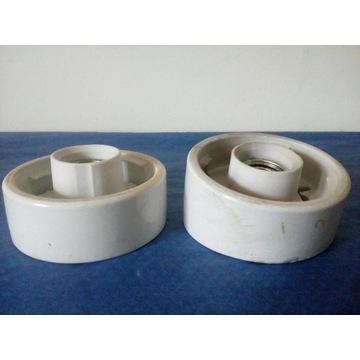 Ceramiczne oprawki na klosz 2 szt.