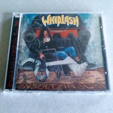 """WHIPLASH - """"Insult to Injury"""" CD"""
