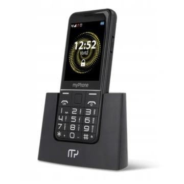 Telefon MyPhone Hallo-Q (dla seniora) + drugi dock