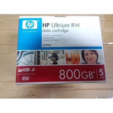 HP Ultrium 800GB RW 5 szt C7973A data cartridge