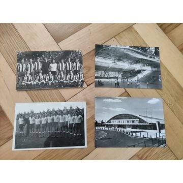 4 pocztówki FKS Stal Mielec