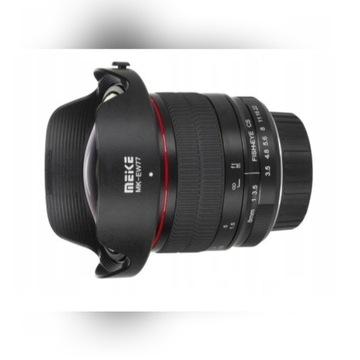 Meike MK-8mm f/3.5 full frame * obiektyw do Nikon