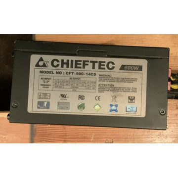 Zasilacz Chieftec CFT-600-14CS 600W