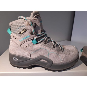 Buty górskie LOWA, GT, ekkingowe, chłopięce, r. 32