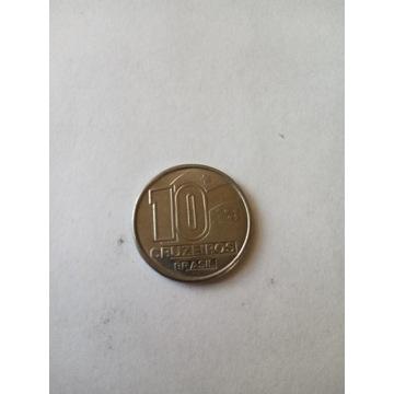 10 cruzeiros Brazylia 1990