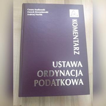 Ustawa Ordynacja Podatkowa