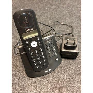 Telefon bezprzewodowy Philips CD145,używany
