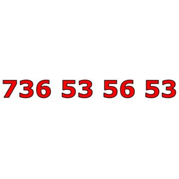 736 53 56 53 ŁATWY ZŁOTY NUMER STARTER