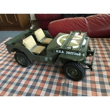 Model Jeep Willys MB numery 1-16 kolekcja hachette