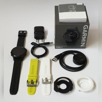 Garmin Fenix 5 Sapphire Edition GWARANCJA +DODATKI