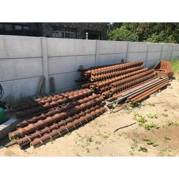 Świdry ślimakowe wiertnicze 3mb 30szt