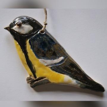 ptak, ptak ceramiczny,gil, sikora,mazurek,kowalik