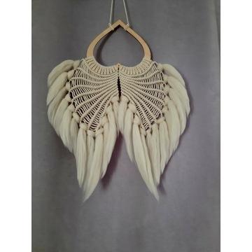 Makrama - skrzydła anioła