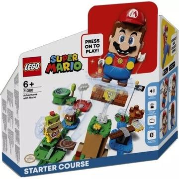 LEGO SUPER MARIO Przygody Mario zestaw startowy