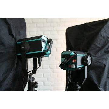 Zestaw ELFO Quant F500 dwie lampy studyjne