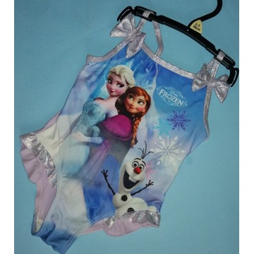 Strój kąpielowy Frozen strój dziecięcy strój 98cm