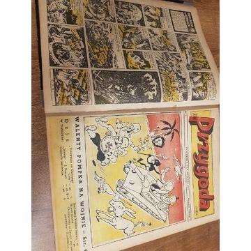 Tygodnik Przygoda 1957 / 1958 unikat 86 numerów