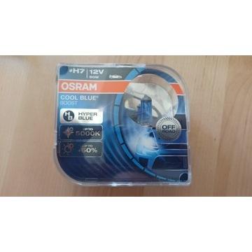 żarówki H7 OSRAM 5000K COOL BLUE boost 2 szt.