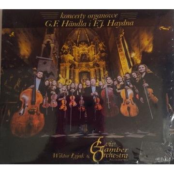CD Koncerty organowe Handla Haydna Muzyka baroku