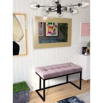 Ławka, ławeczka tapicerowana Industrial Loft