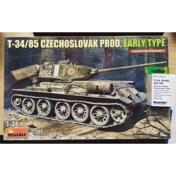 MiniArt 37085 T-34/85 Czechoslovak + Masterclub