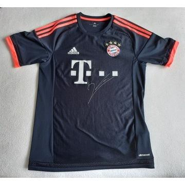 Koszulka Bayernu autograf Roberta Lewandowskiego!