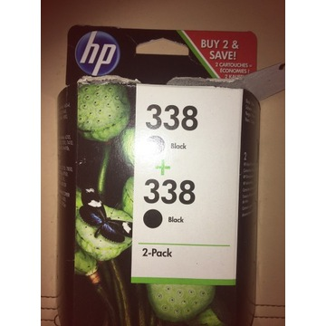 Tusz HP 338 czarny 2-pack oryginał Polecam!