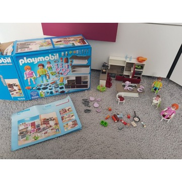 Playmobil 9267,9269 kuchnia i salon