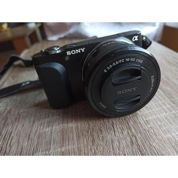 Bezlusterkowiec/Sony NEX 3 /Nie lustrzanka/komplet