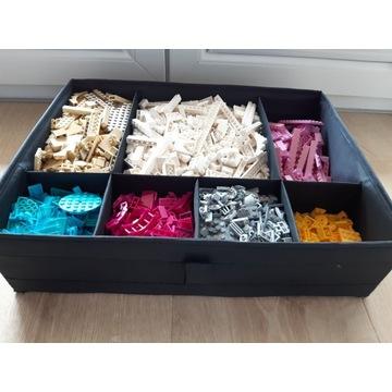 Ogromny zestaw mix LEGO klocki POSEGREGOWANE