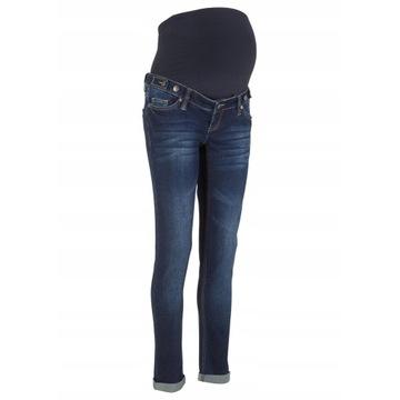 Nowe jeansy ciążowe r.52