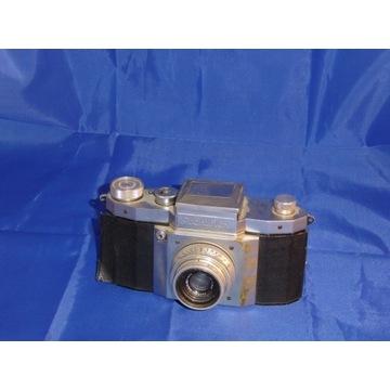 stary aparat praktiflex obiektyw zeiss