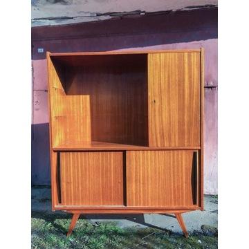 Biblioteczka komoda regał Vintage PRL Retro