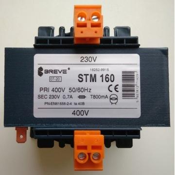 TRANSFORMATOR 1-fazowy STM 160 400/230V 16252-9915