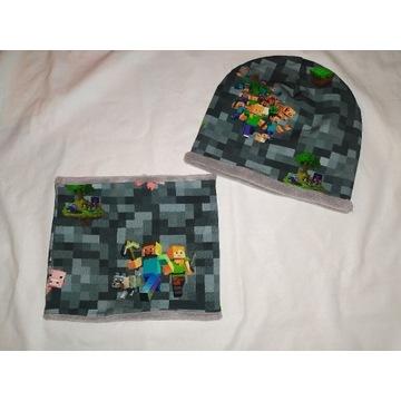 Komplet - czapla + komin - Minecraft