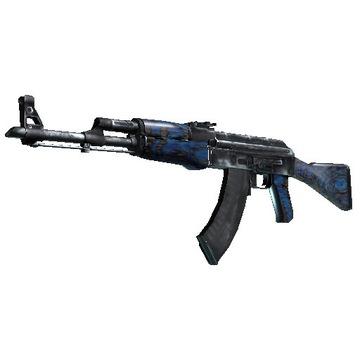 AK 47 Niebieski Laminat lekko używany