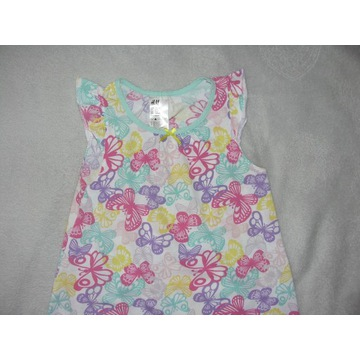 koszulka piżama H&M roz.110/116