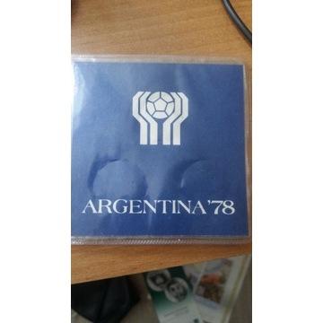 argentyna 78 monety pesos