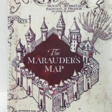 Okładka na paszport HARRY POTTER Marauder's Map