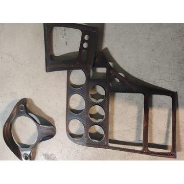 Nakładki prawdziwy carbon Alfa 159