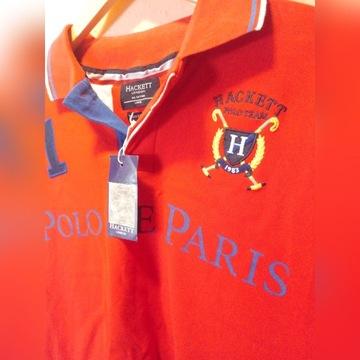 Nowa męska koszulka polo Hackett