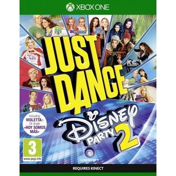 Just Dance Disney Party 2 XBOX ONE NOWA PUDEŁKO
