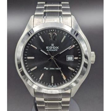 Elegancki swiss diver EDOX C1 Date Automatic.WR200