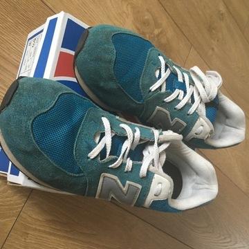 Buty New Balance niebieskie