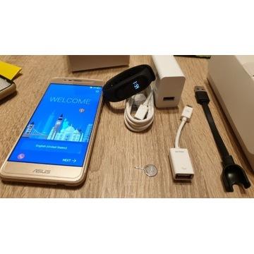 ASUS Zenfone 3MAX + XIAOMI Mi Band 2 + dodatki