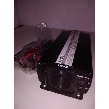 Przetwornica KEMOT 24V-230V 500/1000W URZ3165