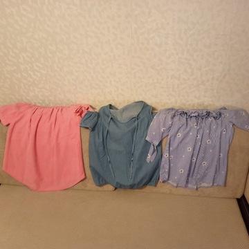 Bluzki bluzka reserved zara bershka orsay monnari